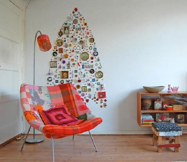 1DIY Wall Collection Christmas Tree