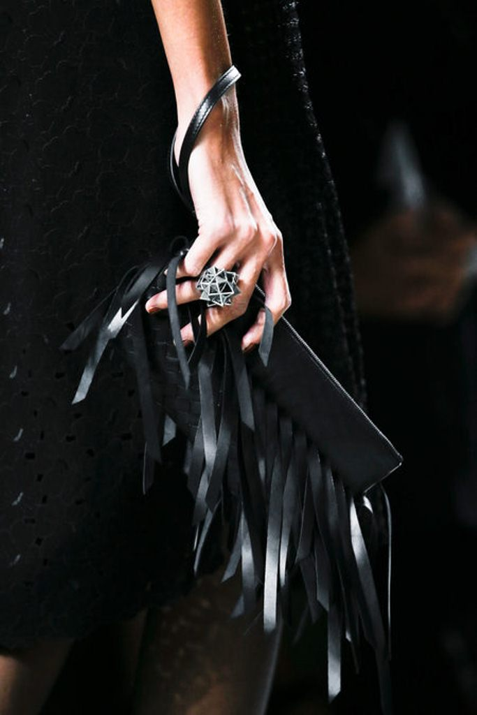 Bottega Veneta Spring 2013 RTW_Leather