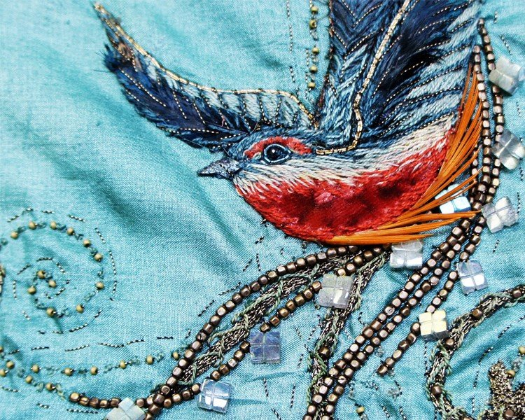 Game of Thrones Bird Embroidery