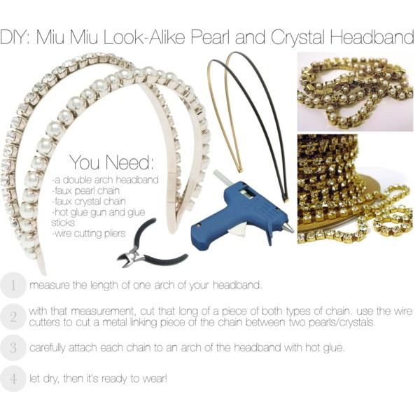 Crystal and Pearl Headband