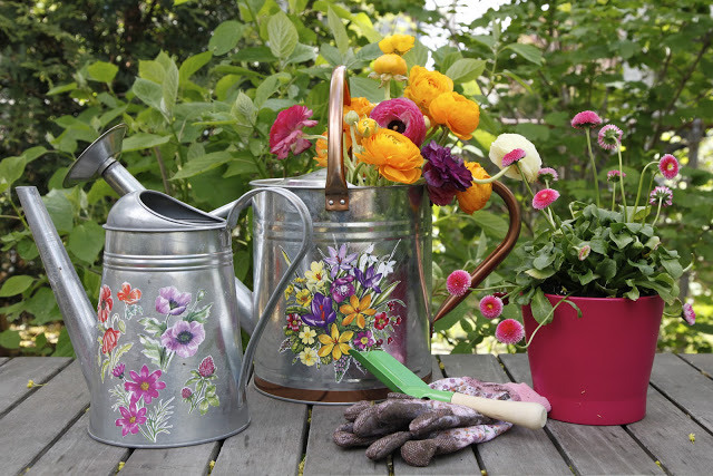 Floral Watering Cans