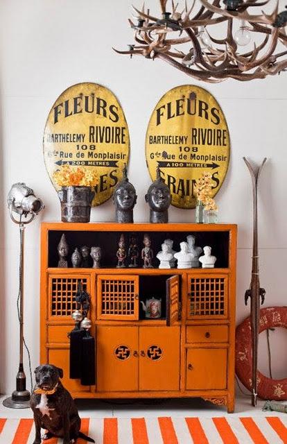 Orange Drawers