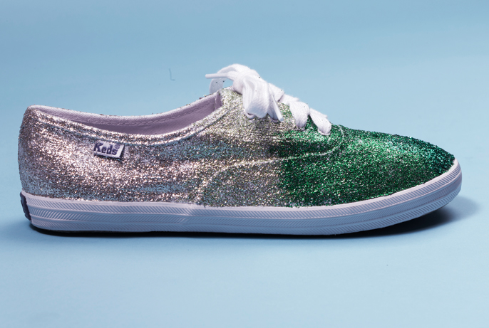 Glitter Sneaker from Teen Vogue