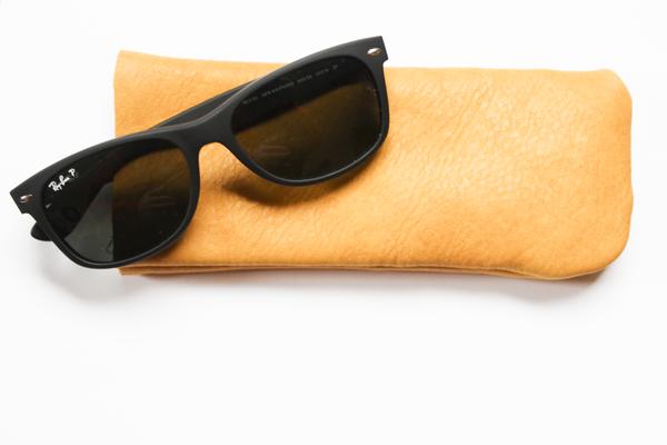 DIY Leather Sunglass Case