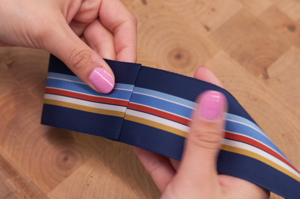 Folding Grosgrain Ribbon