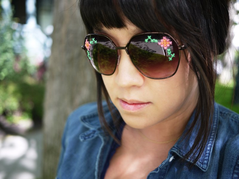 Embroidered Sunglasses