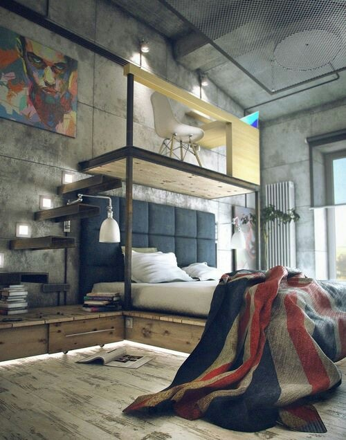 Concrete Loft Space