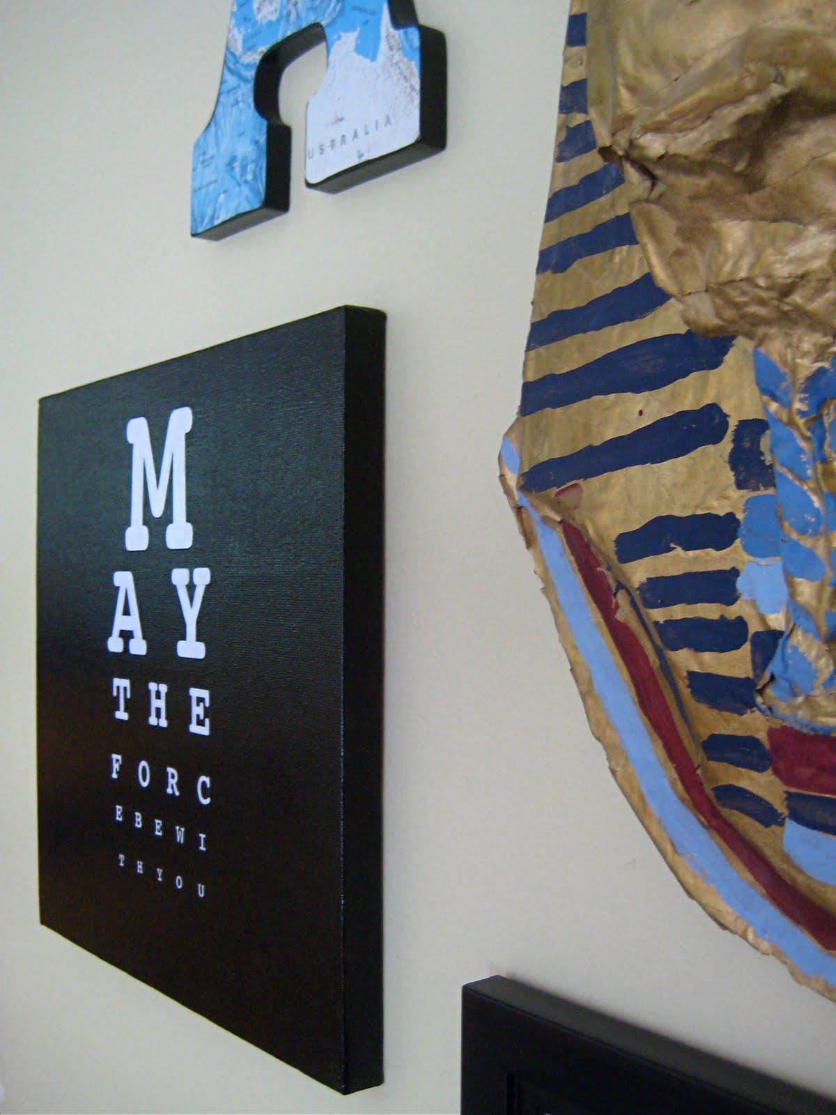 Eye Chart DIY