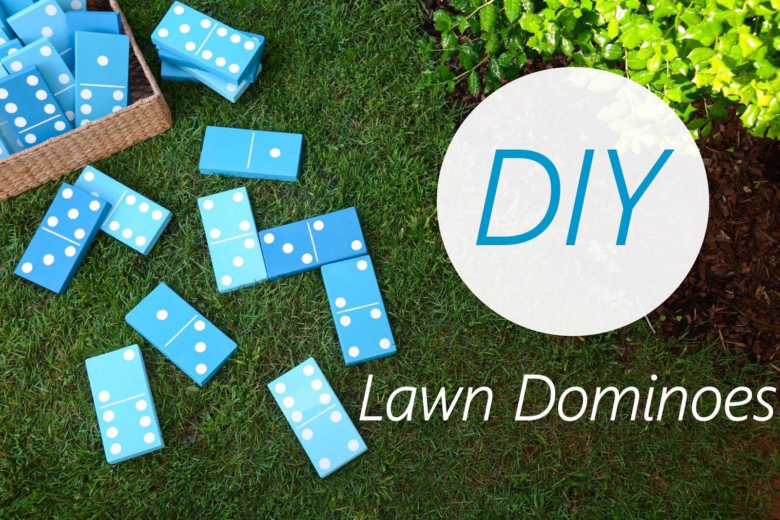 DIY Lawn Game, Iron & Twine, Glidden Paint