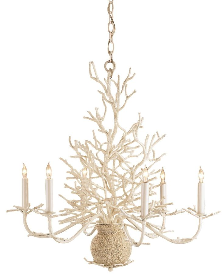 M&J Trimming - Coral Shape Chandelier