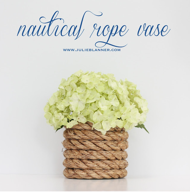 M&J Trimming - Nautical Rope Vase