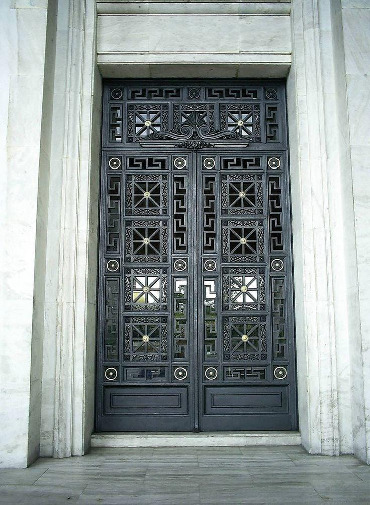 M%J Trimming: Greek Key Doors