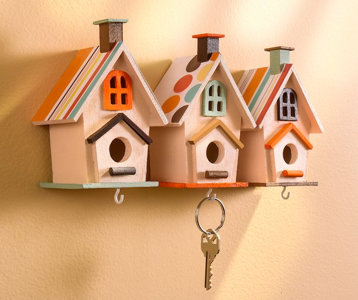 M&J Trimming - Birdhouse Key Holders