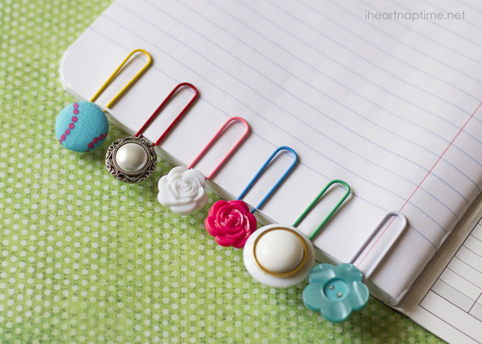 M&J Trimming - Button Bookmarks