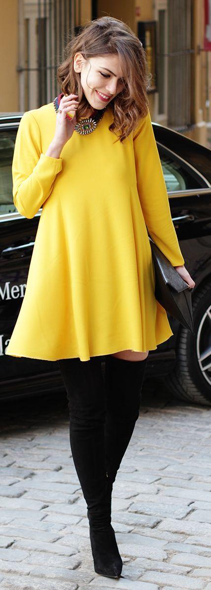 M&J Trimming - Yellow Dress