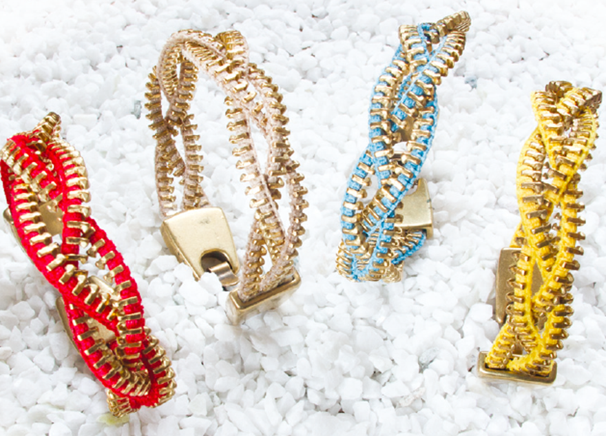 M&J Trimming - Zipper Bracelets