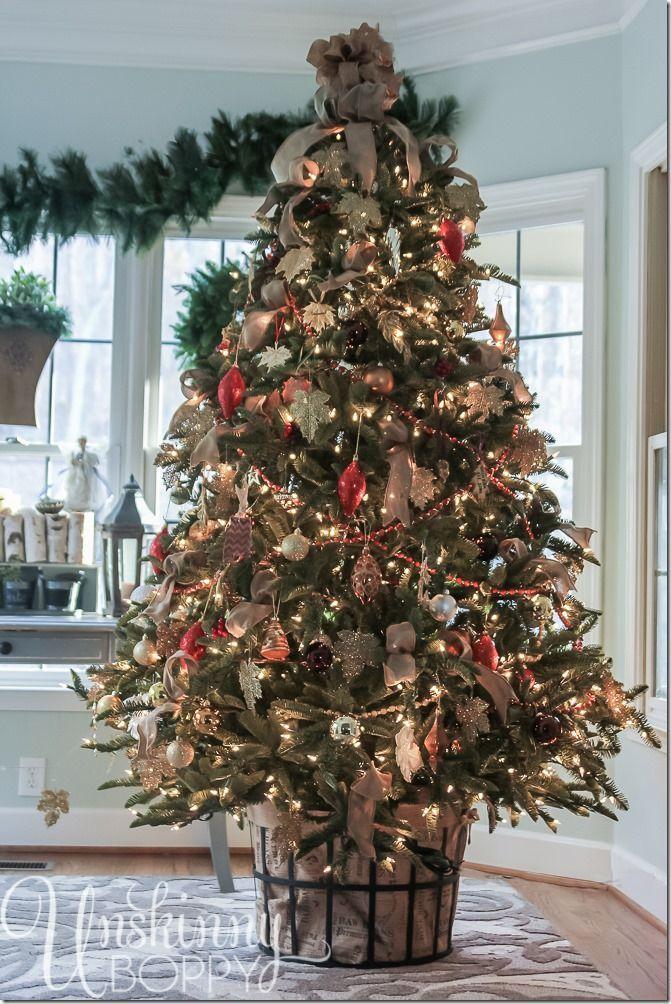 Rustic Christmas Tree