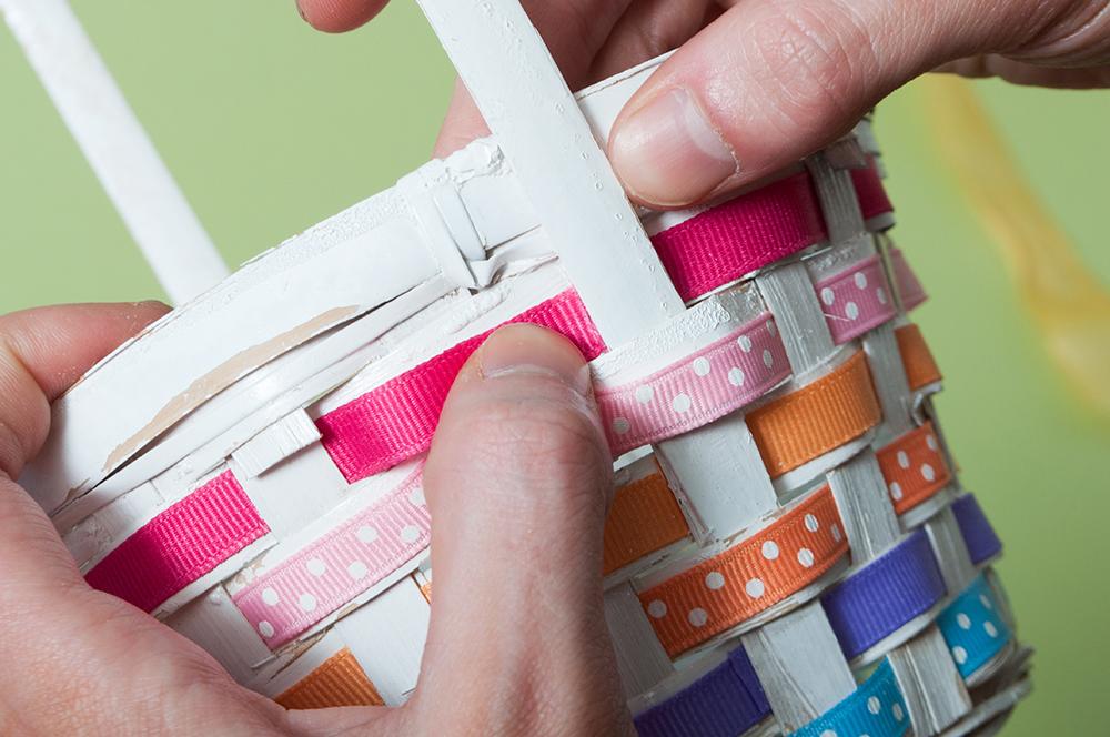 M&J Trimming: Spring Basket DIY