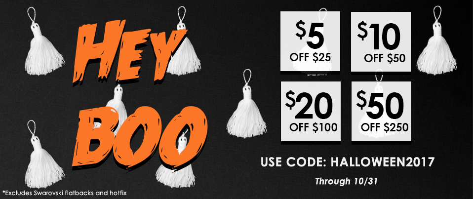 Halloween Tiered Sale