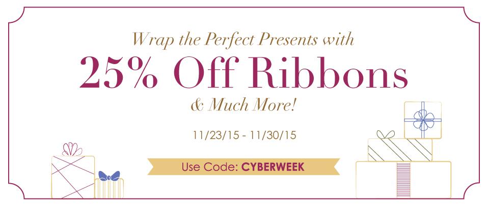 11/20/15 Cyber Week Sale Promo 1