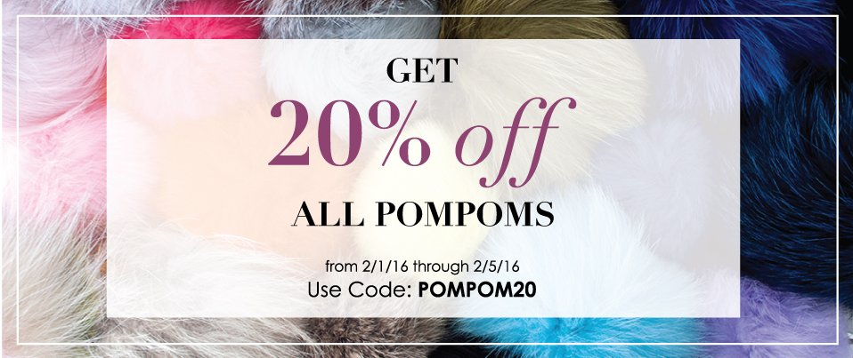 Shop Our Pompoms