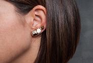 Our latest DIY: Stud Earrings