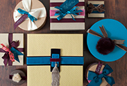 Our latest DIY: Holiday Gift Wrapping