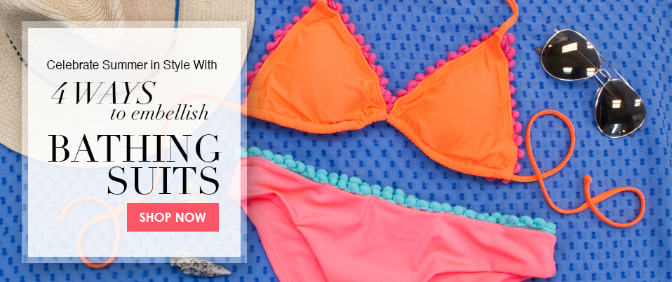4 Ways to DIY your Bathing Suit