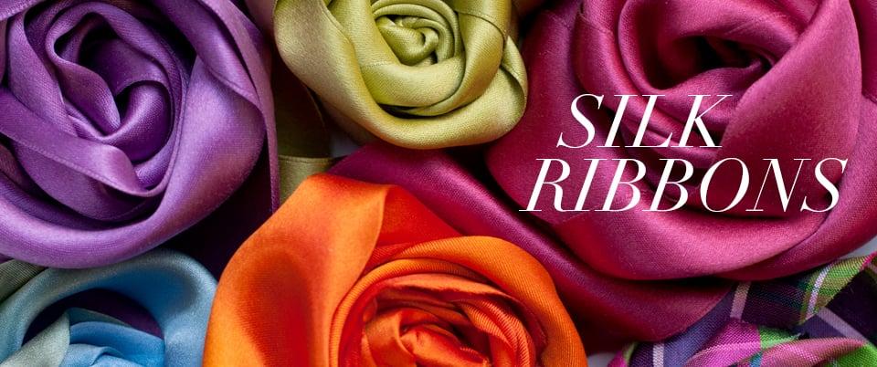 M&J Trimming Silk Ribbons