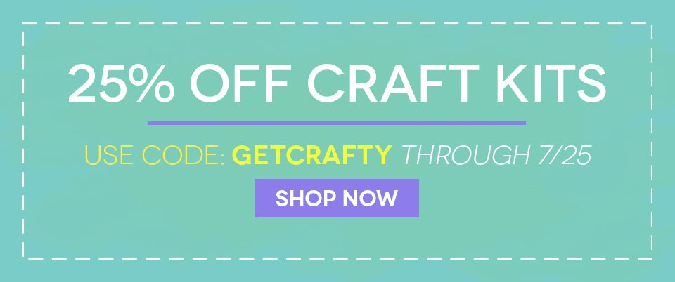 7/22/14 Get Crafty Sale