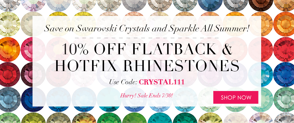 07/29-07/30_Promotion: Rhinestone Sale