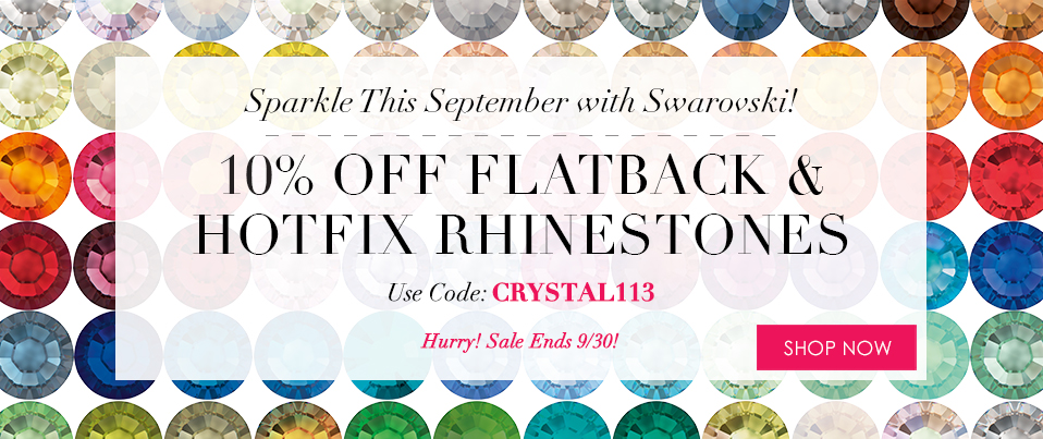 8/26/14 2-Day Rhinestone Sale August 2014