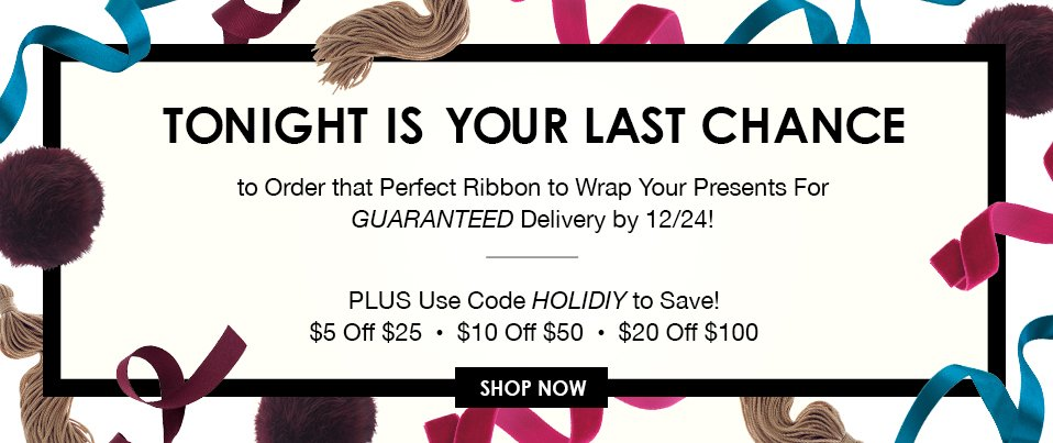 Last Chance for Ribbon