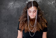 Our latest DIY: Medieval Headpiece
