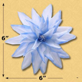 6 STARBURST BLOSSOM WITH PIN