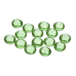 Brilliance Collection Peridot Flatback Rhinestone