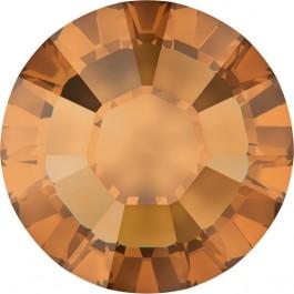 Crystal Copper Swarovski Hotfix Rhinestones