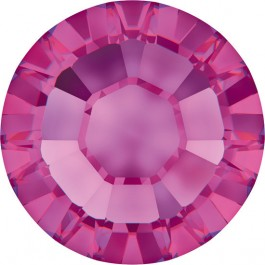 Swarovski Flatback Rhinestones - Fuchsia