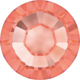 Rose Peach Swarovski Flatback Rhinestones