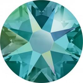 Blue Zircon Shimmer Swarovski Flatback Crystal