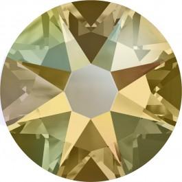 Light Colorado Topaz Shimmer Swarovski Flatback Crystal