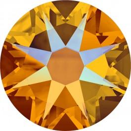 Tangerine Shimmer Swarovski Flatback Crystal