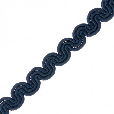 "3/8"" RAYON GIMP SCROLL BRAID"
