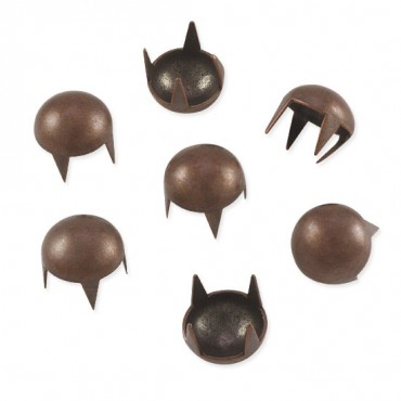 SS30 Dome Nailheads 4-Prong
