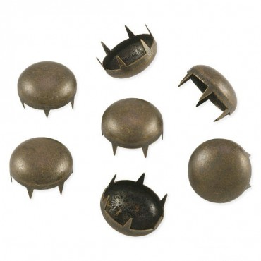 SS70 DOME NAILHEADS 6-PRONG