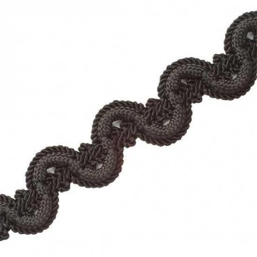"3/4"" IMPORTED RAYON SCROLL BRAID"