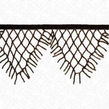 "4 1/2"" (115) Cut Bugle Beaded Fringe"
