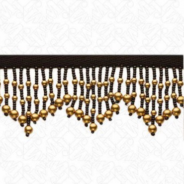 "2"" SCALLOPED BEADED FRINGE"