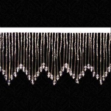 "3 3/4"" (96mm) Bugle / Seed Bead Fringe"
