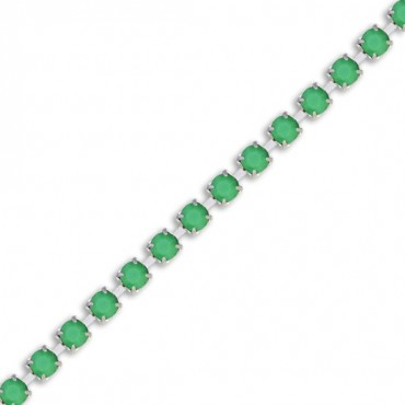 Metallic Rhinestone Chain